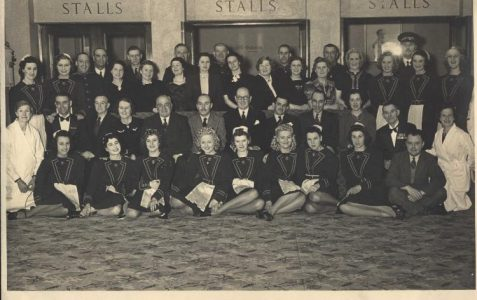 Staff of the old Imperial theatre c1940