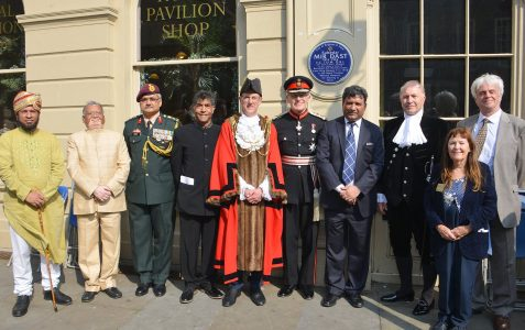 Blue plaque to honour Indian soldier