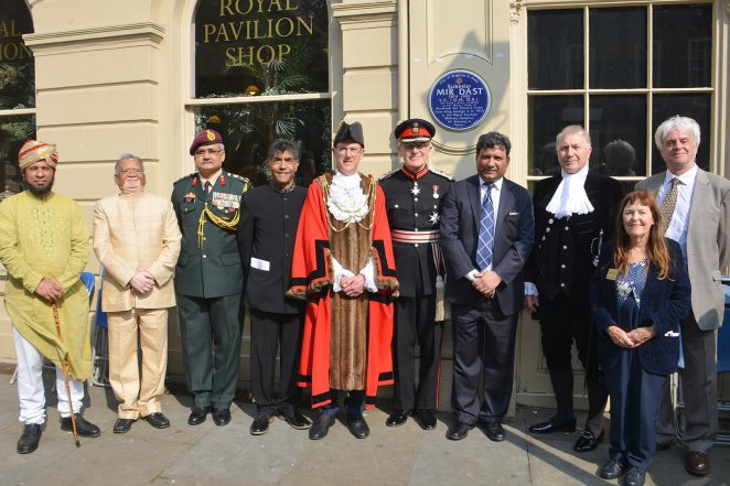Blue plaque unveiling ceremony for VC holder Mir Dast | ©Tony Mould: all images copyrighted