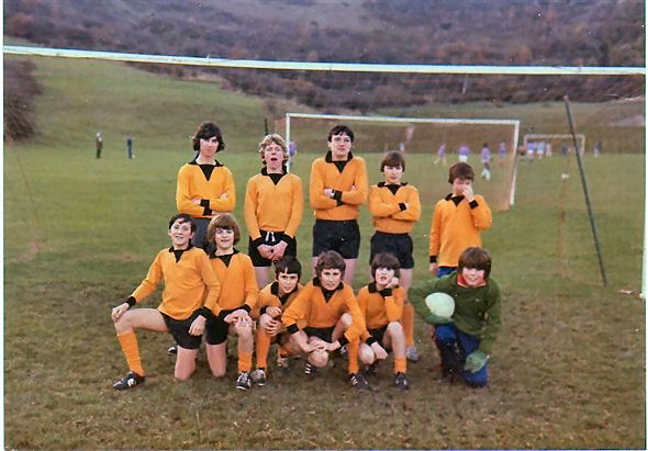 The  13th  Boys'  Brigade  football  team  1978/80 | From the private collection of Harry Atkins