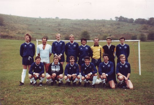 Football teams in the 1970/80s | From the private collection of Harry Atkins