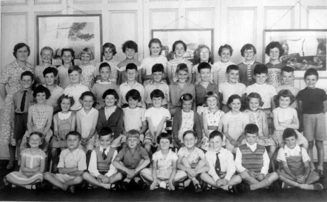Miss Atkins' class: 1a Juniors c.1959 | From the private collection of Irene Dobson (nee Budd)