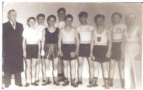 St John the Baptist ATC Boxing Team 1953