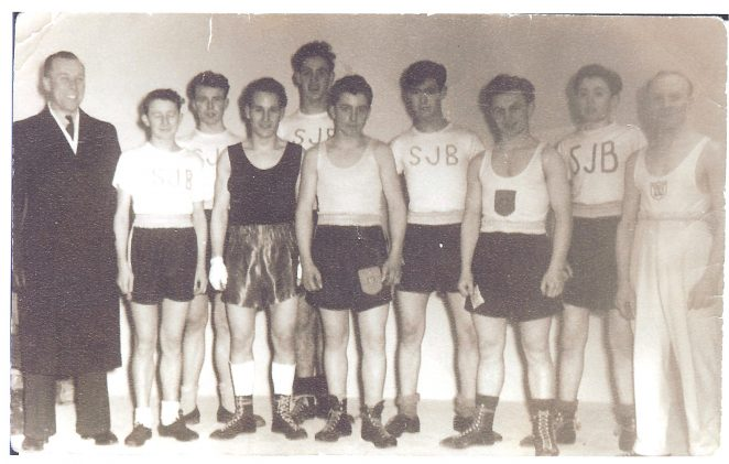ATC Boxing Team 1953 | From the private collection of Bernie Trangmar