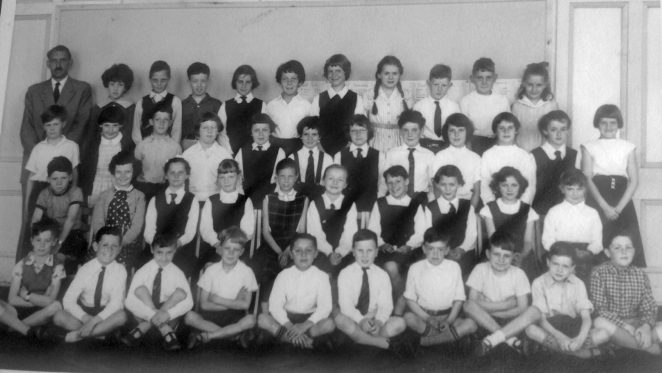 Mr Taylor's class: 2a. C.1960 | From the private collection of Irene Dobson (nee Budd)