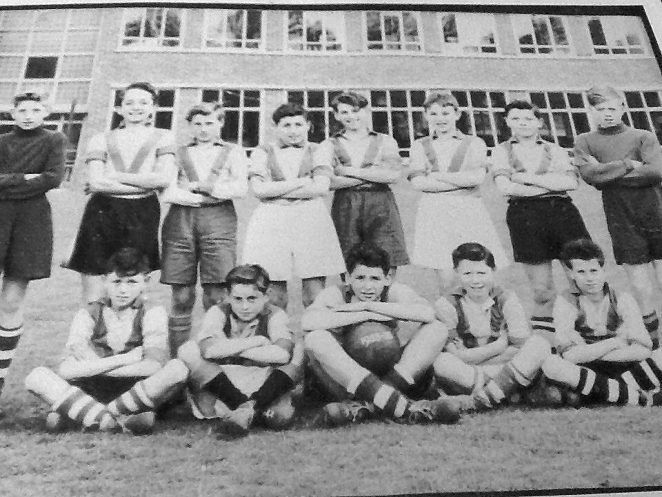 Football team 1955/56 | From the private collection of Tom Sandy