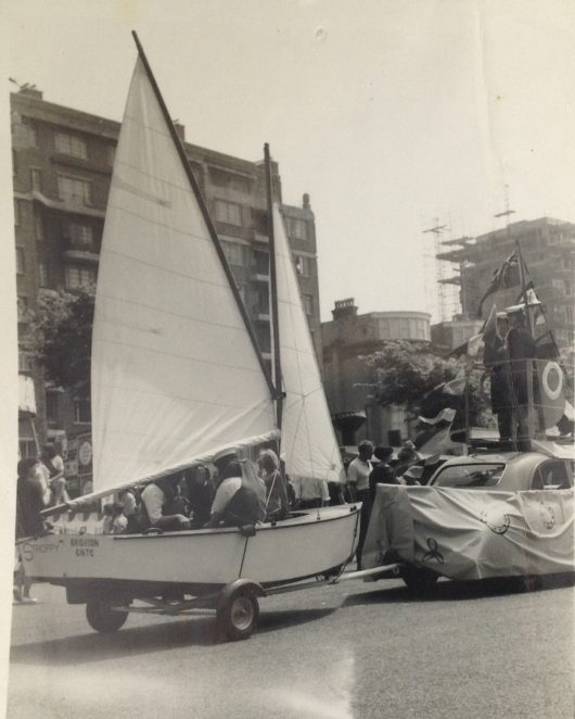 Brighton GNTC Carnival 1960s | From the private collection of Irene Dobson (nee Budd)