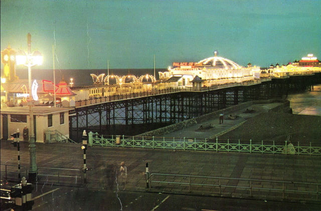 Palace Pier circa early 1960s | Photo by Christopher Wrapson