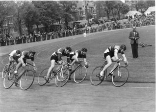Cycle racing at Preston Park | From the private collection of Mick Deacon