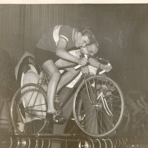 Roller racing | From the private collection of Mick Deacon