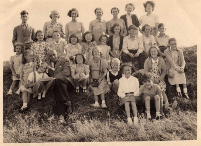 Sunday School outing c1050s | From the private collection of Marion Baldwin/Upton