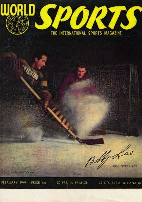 Front cover showing Bobby Lee in action | From the private collection of Garry Lockwood