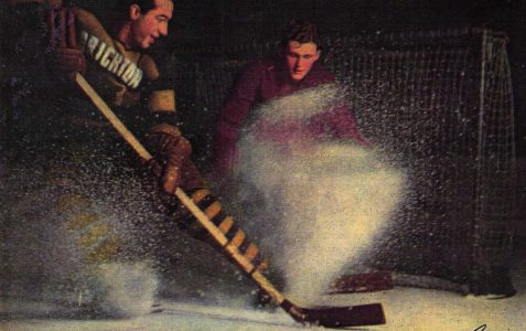 Bobby Lee: Ice Hockey player