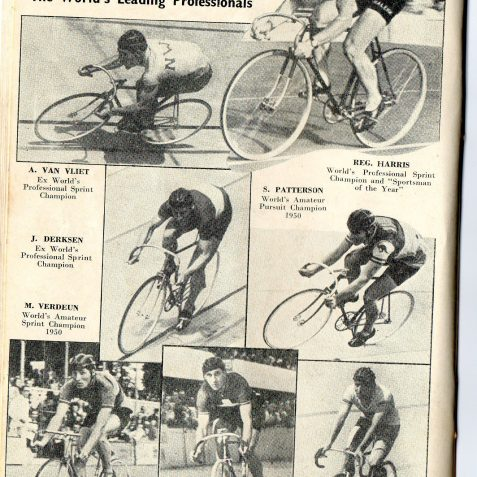Notable competitors | From the private collection of Mick Deacon