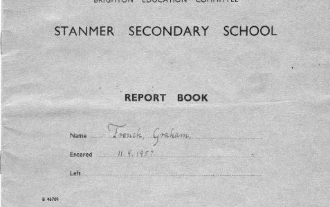 My 1960 report book