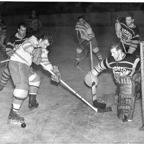 Falkirk Lions v Brighton Tigers .The Falkirk player is future Brighton player coach Johnny Carlyle | From the private collection of Gary Carlyle