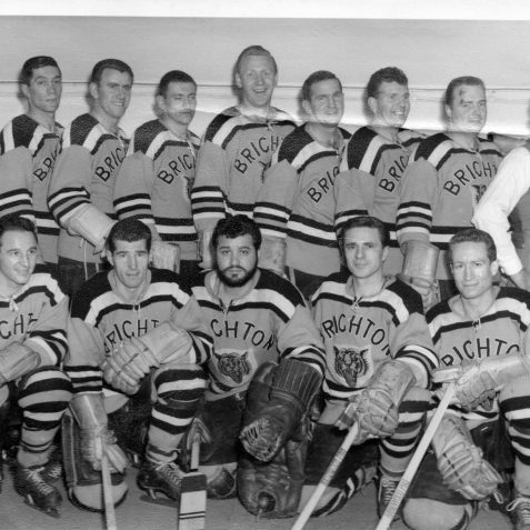 Brighton Tigers team photo | From the private collection of Gary Carlyle