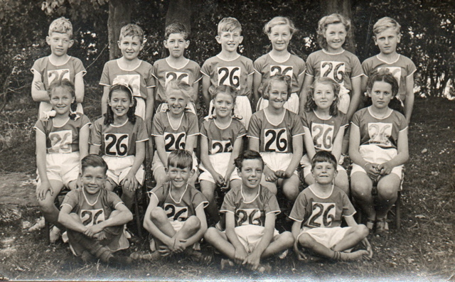 Woodingdean Primary School sports team circa early 1950s | From the private collection of Christoper Wrapson