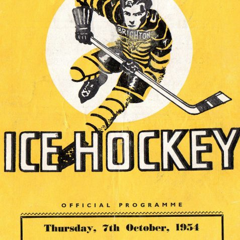 Old Program from the old rink | From the private collection of Gary Carlyle