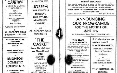 A 1949 programme