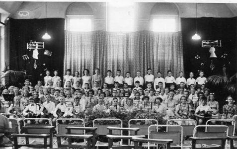 Orchestra and Choir Circa 1954/55
