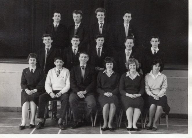 Stanmer Secondary School Form V | From the personal collection of Chris Redford