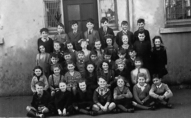 Class photo c1949-1950 | From the private collection of Mick Peirson
