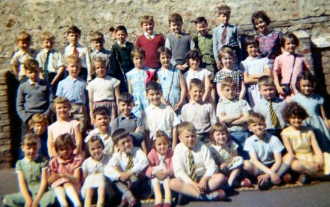 Class photograph early 1960s
