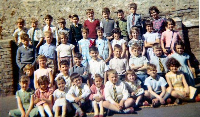 Class photograph early 1960s | From the private collection of David Sanders