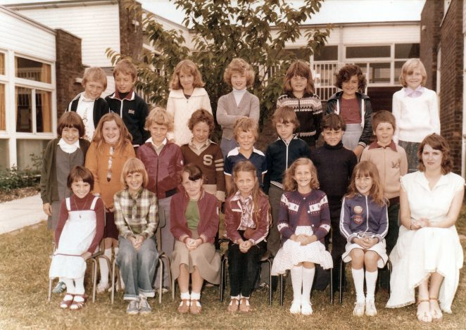Class photograph 1978:click on image for a larger view | From the private collection of Peter Guy