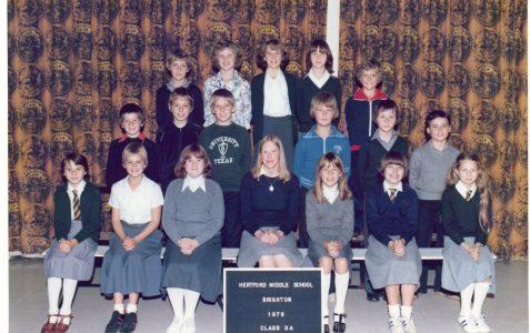 Class photograph 1979