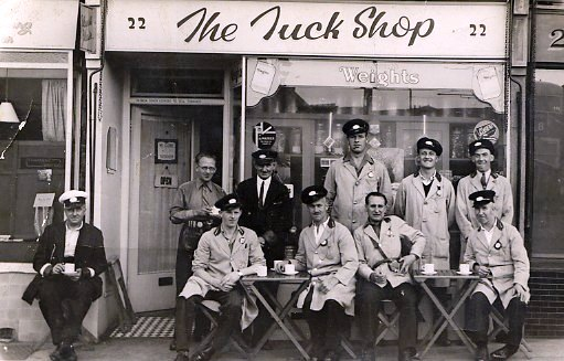 The Tuck Shop | From the personal collection of  Victor Middleton