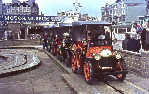 Vintage motorcar childrens' rides