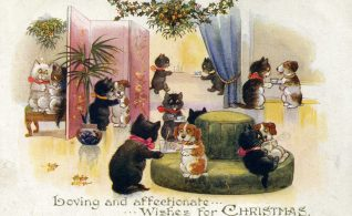 Christmas Greetings | From the private collection of Dennis Parrett