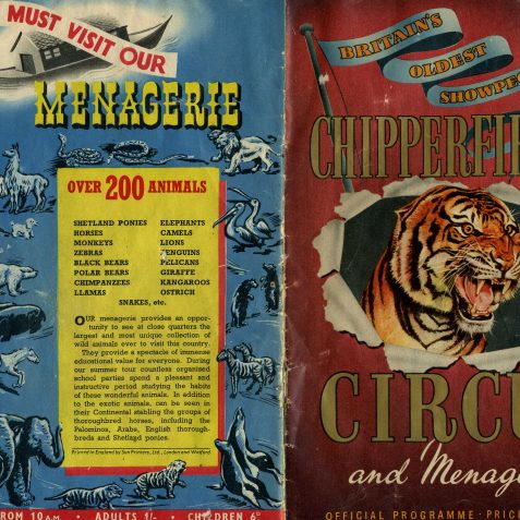 Chipperfields Circus | From the private collection of Dennis Parrett