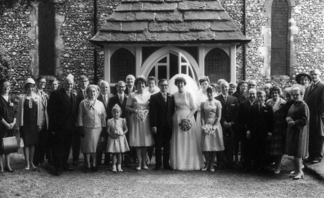 Wedding of Ros & Dennis Parrett | from the private collection of Dennis Parrett