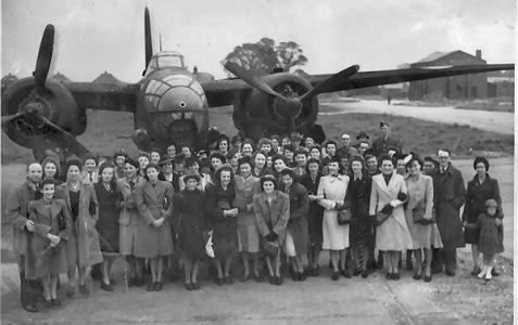 Outing to Ford Aerodrome 1943