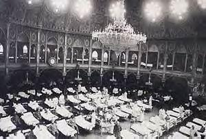 Wounded Indian soldiers at the Royal Pavilion | Image reproduced with permission from the Black History website