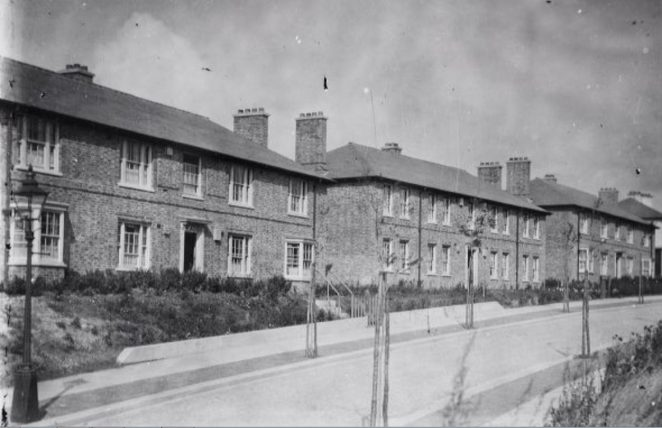 Ingram Crescent | Image reproduced with kind permission of The Regency Society and The James Gray Collection