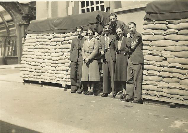 Was this taken outside Brighton Town Hall? | From the private collection of Irene Marriott