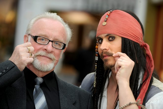 Our Chief Photographer Tony Mould and Johnny Depp lookalike | Brighton Argus: Tony Wood