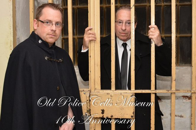 Museum Vice President Peter James is 'banged up' | ©Tony Mould: images copyright protected