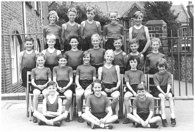 Ditchling Road Track & Field Team 1957 | From the private collection of John Horn