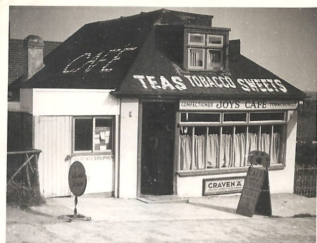 Joy's Cafe, Falmer Road | From the private collection of David Pope