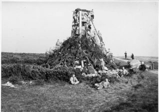 Jubilee bonfire beacon - The Silver Jubilee of King George V and Queen Mary 1935 | HPGC Archive