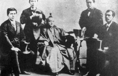 Brighton experience by the Iwakura Mission c1872