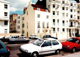 Marine Parade: Dorset House in the centre of the picture