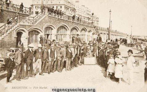 Brighton Fish Market c1900s