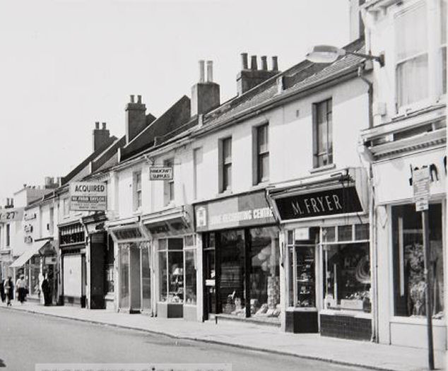 George Street Hove | Image reproduced with kind permission of The Regency Society and The James Gray Collection