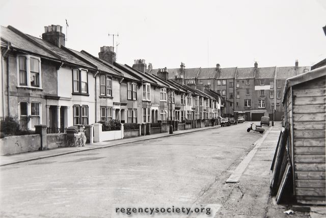 Ellen Street | Image reproduced with kind permission of The Regency Society and The James Gray Collection